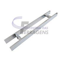 Puxador Retangular 40cm X 30cm P/ Porta Madeira + Fechadura
