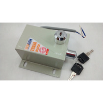 Trava Elétrica P/ Portão Automático + Módulo Temporizador