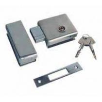 Fechadura Trava Tetra Porta Vidro Blindex - Alta Segurança