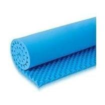 Colchão Caixa De Ovo Lukspuma Solteiro Anti Escaras Azul