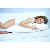 Kit 2 Travesseiros Gigante De Corpo Body Pillow Com Fronhas