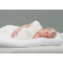 Travesseiro Gestante Grávidas Gigante 1,90x0,50 Com 1 Fronha