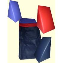 Almofada Encosto Triangular Leitura Kit Casal 2 Pçs
