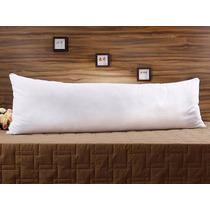Travesseiro De Corpo Gigante King - Fibra Siliconada