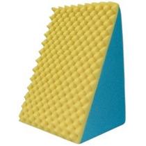 Travesseiro Encosto Triangular 45x65x30cm + Capa De Tecido