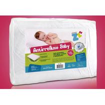 Travesseiro Almofada Anti Refluxo Baby 60 X 34 Cm - Fibrasca