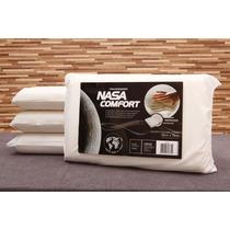 Kit 4 Travesseiros Nasa Viscoelástico - Conheça O Conforto