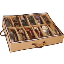 Sapateira Flexivel 12 Pares De Calçado Organizadora Sapatos