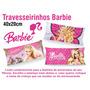 50 Travesseirinhos Almofadas Lembrancinha 40x20 Barbie