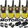4 Radios Comunicadores Motorola Walk Talk Talkabout Mh230