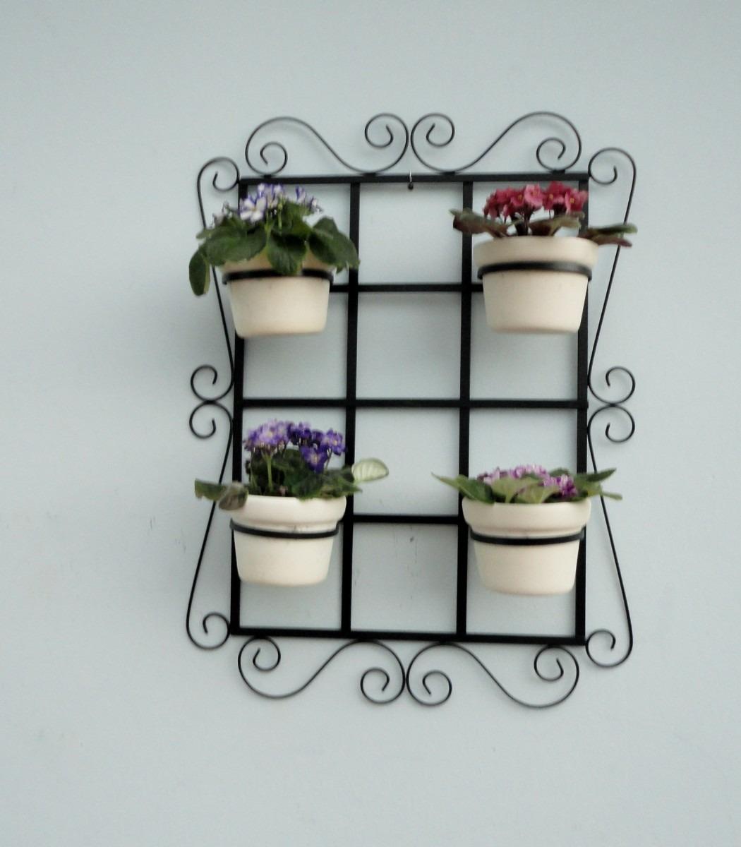 trelica jardim vertical:treliça de jardim vertical com suporte para vaso