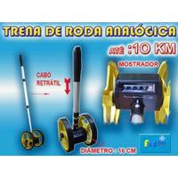 Trena Roda Medição Analógica Até 10 Km - Metro / Cm.