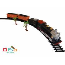 Trenzinho Elétrico 22 Pcs Ferrorama Com Som Altos Detalhes