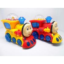 Trem Trenzinho Thomas Com Musica E Luzes Infantil Locomotiva