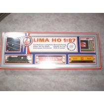 Ho- Caixa Básica Trem Cargueiro Lacrada, Lima !