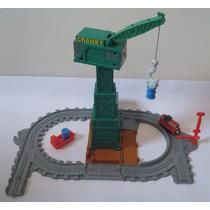 Trem Thomas - A Doca Do Cranky + Locomotiva - Fisher Price