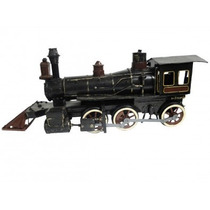 Locomotiva Trem De Minas Coleção Colecionador Raridade Ferro