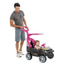 Mini Veículo Smart Baby Bandeirante Comfort Rosa -