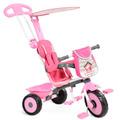 Triciclo Passeio Bicicleta Infantil Menina Soft Bandeirante