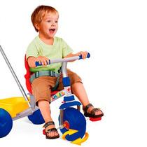 Triciclo Smart Pop Bandeirante