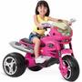 Super Moto Gt2 Turbo Pink Elétrica 12v Rosa Bandeirante