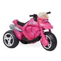 Moto Elétrica Bandeirante Infantil Sport Rosa 6v Feminina