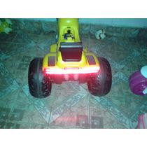 Moto Elétrica Infantil 12v Sprint Turbo Com Bateria De Carro