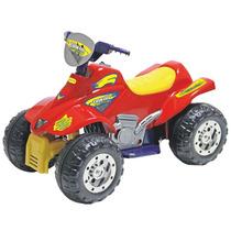 Quadriciclo Elétrico Moto Infantil Dakkar Vermelho 6v Biemme