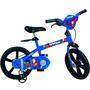 Bicicleta Aro 14 Super Homem - Bike 2356 Infantil Novo