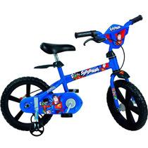 Bicicleta Aro 14 Super Homem - Bandeirante 2356 Infantil
