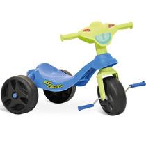 Triciclo Kid Cross Azul Bandeirante
