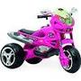 Mini Veículo Infantil Super Moto Gt2 Turbo Rosa - Bandeirant