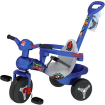 Triciclo Veloban Passeio Avengers - Brinquedos Bandeirante