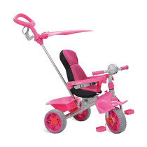 Triciclo Smart Confort Pink - Brinquedos Bandeirantes - Rosa