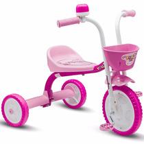 Triciclo 3 Rodas Bicicleta Criança Menina You 3 Girl Nathor