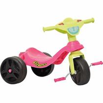 Triciclo Infantil Motoca Menina Kid Cross Rosa Bandeirante