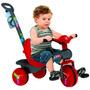 Triciclo Veloban Passeio - Vermelho - Bandeirante