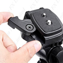 Tripe Camera Digital Filmadora Dslr Aluminio 1.3 Mts Tr551