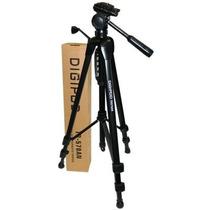 Tripe Digipod Tr 570 1.80mts Camera, Filmadora Case Gratis