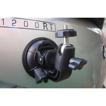 Suporte Câmera Para Moto Carro C/ Ventosa Dezenas Regulagens
