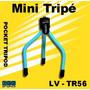 Mini Tripé Level Pocket Tripod Lv-tr56 Câmeras E Filmadoras