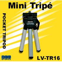 Mini Tripé Level Pocket Tripod Lv-tr16 Câmeras E Filmadoras