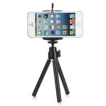 Mini Tripé Universal Ajustável Para Celular Iphone Galaxy