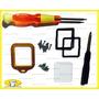 Gopro Kit Reposição Lente Anel Alumínio (caixa De Mergulho)
