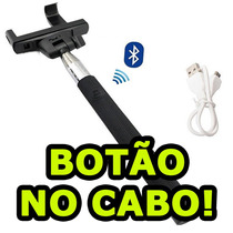 Kit Selfie Bastão + Sem Fio Samsung Galaxy S3 S4 S5 Duos
