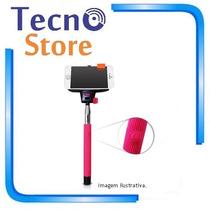 Bastão Selfie Monopod Retrátil Bluetooth Disparador Sem Fio