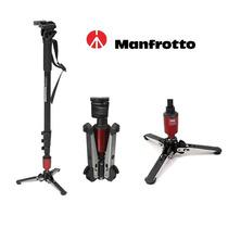 Monopé Manfrotto 560b-1 P/ Vídeo E Foto Com Cabeça