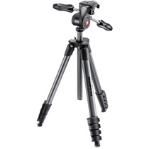 Tripé Manfrotto Compact Advanced Black Mkcompactadv-bk