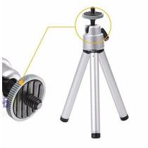 Mini Tripé Universal Retrátil Sl-3 P Camera Digital
