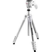Tripé Manfrotto Compact Action White Mkcompactacn-wh - Video